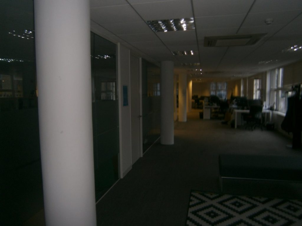 removal of office partitions  and refurb 02